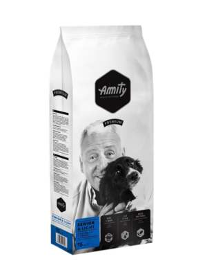 ΣΚΥΛΟΤΡΟΦΗ AMITY SENIOR-LIGHT PREMIUM 15kg