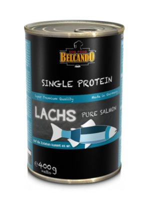 ΚΟΝΣΕΡΒΑ ΣΚΥΛΟΥ BELCANDO SINGLE PROTEIN SALMON 400g