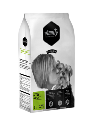 ΣΚΥΛΟΤΡΟΦΗ AMITY ADULT MINI PREMIUM 3kg