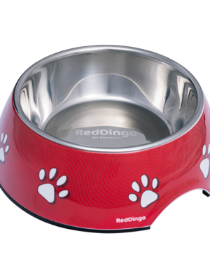 ΜΠΟΛ REDDINGO BOWL DESERT PAWS RED L 22cm 700ml